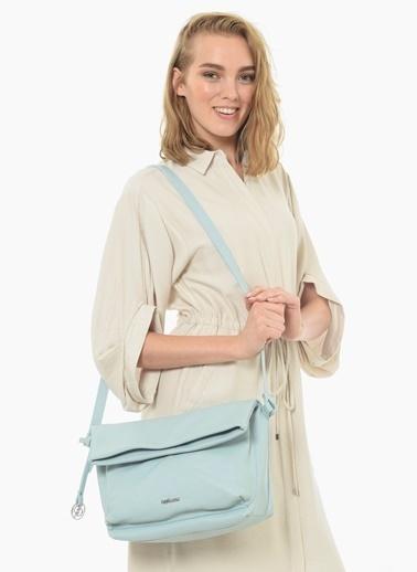 Divarese Messenger / Askılı Çanta Mavi
